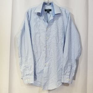 100% Egyptian Cotton Mens Shirt LS Button 15 34/35